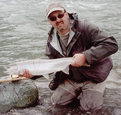Winter steelhead fishing in the chilliwack river can produce results like this